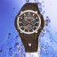 OHSEN – AD1102-1: นาฬิกาข้อมือสปอร์ต 2 ระบบ / ปลุก / จับเวลา สีดำ thumbnail 1