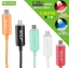 สาย Micro USB Date Sync Charge GOLF LED thumbnail 4