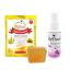 สบู่ระงับกลิ่นกาย( 90 g) +สเปรย์ระงับกลิ่นกาย 60 ML ( CK One Unisex ) thumbnail 1