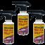 คิวเทอร์ฟ เคลือบสีรถสูตรน้ำ (Qturf B 600 pro car polish protection) 450 มล. ชุด 3 ขวด thumbnail 1