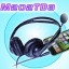 M202TD3 Biaural/Stereo Telephone Headset For Cellphone & PC thumbnail 1