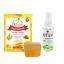 สบู่ระงับกลิ่นกาย (90 g )+สเปรย์ระงับกลิ่นกาย ( Odorless) thumbnail 1