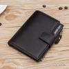 กระเป๋าสตางค์ผู้ชาย ทรงตั้ง HENG SHENG VEN - สีดำ