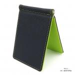 กระเป๋าสตางค์ผู้ชาย แบบหนีบแบงค์ รุ่น Slip Slim - สีเขียว