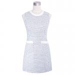 DR_8940 (pre-order) ชุดเดรสแขนกุด, 2016, Dress, Blue, S-M-L-XL
