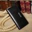 กระเป๋าสตางค์ผู้ชาย ทรงยาว ซิปรอบ Denater Zipper - สีดำ thumbnail 15