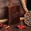 กระเป๋าสตางค์ผู้ชาย หนังแท้ ทรงตั้ง Ven Leather Wax - สีน้ำตาลเข้ม thumbnail 2