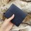 กระเป๋าสตางค์ผู้ชาย ทรงสั้น รุ่น B - สีน้ำเงิน thumbnail 7