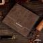 กระเป๋าสตางค์ผู้ชาย ทรงสั้น Weichen - สีน้ำตาล thumbnail 1