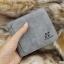 กระเป๋าสตางค์ผู้ชาย ทรงสั้น SevJink-LeaR - สีเทา thumbnail 5