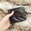 กระเป๋าสตางค์ผู้ชาย หนังแท้ ทรงสั้น Short Leather Wax - สีน้ำตาลเข้ม thumbnail 14