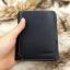 กระเป๋าสตางค์ผู้ชาย หนังแท้ ทรงสั้น Leather DIDE - สีดำ thumbnail 8