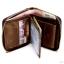 กระเป๋าสตางค์ผู้ชาย หนังแท้ ทรงตั้ง Ven Leather Zipper - สีน้ำตาลอ่อน thumbnail 3