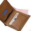 กระเป๋าสตางค์ผู้ชาย ทรงตั้ง HUAWAN - สีน้ำตาลเข้ม thumbnail 3