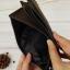 กระเป๋าสตางค์ผู้ชาย หนังแท้ ทรงยาว มีช่องซิปใส่เหรียญ - สีน้ำตาลเข้ม thumbnail 6