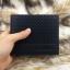 กระเป๋าสตางค์ผู้ชาย ทรงสั้น ลายสก๊อต Sevjink S - สีดำ thumbnail 9