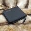 กระเป๋าสตางค์ผู้ชาย หนังแท้ ซิปรอบ รุ่น GUBINTU Zipper - สีดำ thumbnail 4