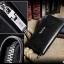 กระเป๋าสตางค์ผู้ชาย ทรงยาว ซิปรอบ Denater Zipper - สีดำ thumbnail 14