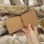 กระเป๋าสตางค์ผู้ชาย แบบหนีบแบงค์ รุ่น Slip Slim - สีน้ำตาล thumbnail 6