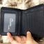กระเป๋าสตางค์ผู้ชาย หนังแท้ ทรงสั้น Leather DIDE - สีดำ thumbnail 3