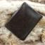 กระเป๋าสตางค์ผู้ชาย หนังแท้ ทรงตั้ง Ven Leather Wax - สีน้ำตาลเข้ม thumbnail 9
