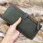 กระเป๋าสตางค์ผู้ชาย ทรงยาว BOGESI รุ่น Long - สีเขียวทหาร thumbnail 6