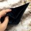 กระเป๋าสตางค์ผู้ชาย หนังแท้ ทรงสั้น Leather DIDE - สีดำ thumbnail 4