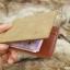 กระเป๋าสตางค์ผู้ชาย แบบหนีบแบงค์ Slip Slim Stable - สีน้ำตาล thumbnail 11