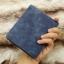 กระเป๋าสตางค์ผู้ชาย ทรงสั้น Sevjink Clear - สีฟ้า thumbnail 6
