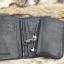 กระเป๋าสตางค์ผู้ชาย หนังแท้ ทรงตั้ง รุ่น GUBINTU Line Button Zip - สีดำ thumbnail 13