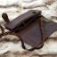 กระเป๋าสตางค์ผู้ชาย หนังแท้ ทรงยาว Leather Rock - สีน้ำตาลดำ thumbnail 4