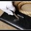กระเป๋าสตางค์ผู้ชาย ทรงยาว ซิปรอบ Denater Zipper - สีดำ thumbnail 11