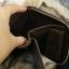 กระเป๋าสตางค์ผู้ชาย หนังแท้ ทรงตั้ง Ven Leather Zipper - สีน้ำตาลอ่อน thumbnail 10