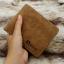 กระเป๋าสตางค์ผู้ชาย ทรงสั้น Sevjink Clear - สีน้ำตาล thumbnail 6
