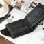 กระเป๋าสตางค์ผู้ชาย หนังแท้ ทรงสั้น Shidai Piroyce - สีดำ thumbnail 5