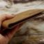 กระเป๋าสตางค์ผู้ชาย ทรงสั้น Sevjink Clear - สีน้ำตาล thumbnail 3