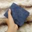 กระเป๋าสตางค์ผู้ชาย ทรงสั้น Sevjink Clear - สีฟ้า thumbnail 5