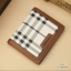 กระเป๋าสตางค์ผู้ชาย ทรงตั้ง Pidengabao ลายScoth - สีครีม-ขาว thumbnail 1