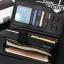 กระเป๋าสตางค์ผู้ชาย ทรงยาว Hengsheng มีสายคล้อง - สีน้ำตาล thumbnail 4