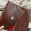 กระเป๋าสตางค์ผู้ชาย หนังแท้ ทรงยาว BrowneFox Long Slim - สีน้ำตาล thumbnail 7
