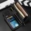 กระเป๋าสตางค์ผู้ชาย ทรงยาว Hengsheng มีสายคล้อง - สีดำ thumbnail 3