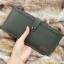 กระเป๋าสตางค์ผู้ชาย ทรงยาว BOGESI รุ่น Long - สีเขียวทหาร thumbnail 5