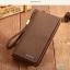 กระเป๋าสตางค์ผู้ชาย ทรงยาว Brownefox - สีน้ำตาลเข้ม thumbnail 1