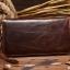 กระเป๋าสตางค์ผู้ชาย หนังแท้ ทรงยาว Wallet Long Leather Zipper - สีน้ำตาลเข้ม thumbnail 2