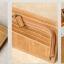 กระเป๋าสตางค์ผู้ชาย หนังแท้ ทรงสั้น T0183 - สีน้ำตาล thumbnail 3