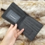กระเป๋าสตางค์ผู้ชาย ทรงสั้น Pidengbao รุ่น circle - สีดำ thumbnail 8