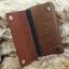 กระเป๋าสตางค์ผู้ชาย ทรงยาว มีสายจับ หนังเรียบ ลายน้ำ - สีน้ำตาล thumbnail 4