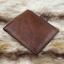 กระเป๋าสตางค์ผู้ชาย หนังแท้ ทรงสั้น Leather Clear - สีน้ำตาล thumbnail 2