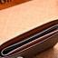 กระเป๋าสตางค์ผู้ชาย ทรงสั้น รุ่น SEVJINK - สีเทา thumbnail 3