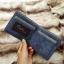 กระเป๋าสตางค์ผู้ชาย ทรงสั้น Sevjink Clear - สีฟ้า thumbnail 3